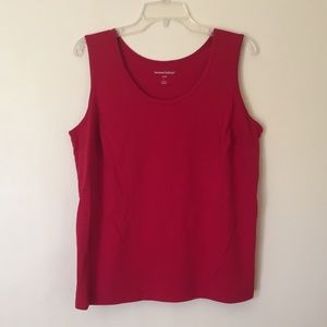 🌅 Woman Within Sleeveless Top (Size 18/20 Large)